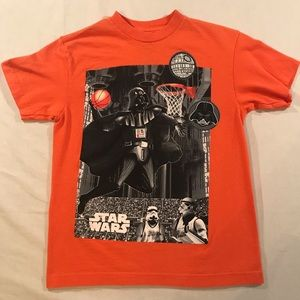 Star Wars Darth Vader Basketball Boys size 10/12